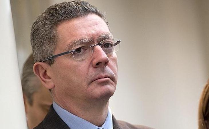 El expresidente madrileño, Alberto Ruiz Gallardón