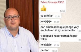 """El PSOE suspende al concejal que """"enchufaba empleadas para follar"""", un error según el edil"""