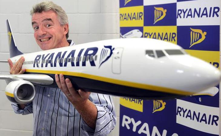El fundador de Ryanair, Michael O'Leary, ha enfrentado múltples polémicas