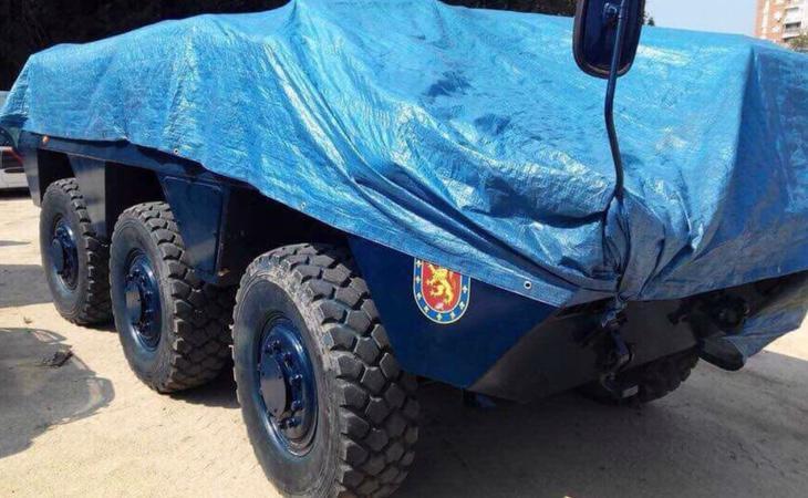 Los vehículos están listos para ser enviados a Cataluña