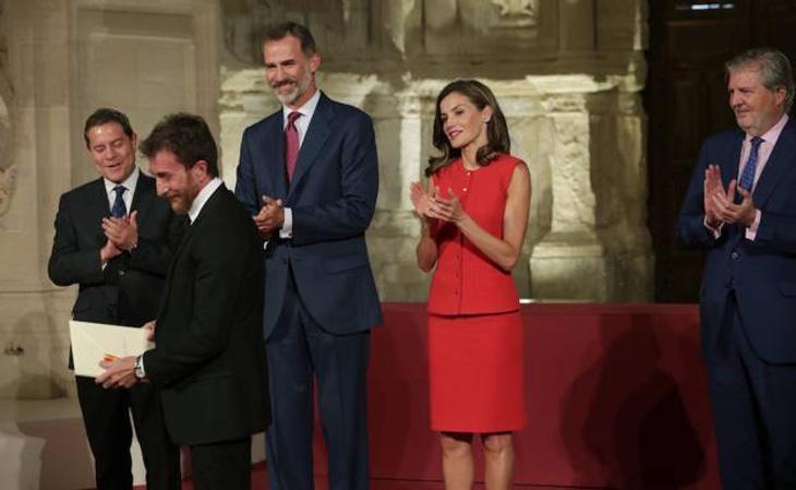 Pablo Motos recibe el premio