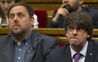 Puigdemont, Junqueras y Forcadell podrían pasar una década en prisión por el Referéndum