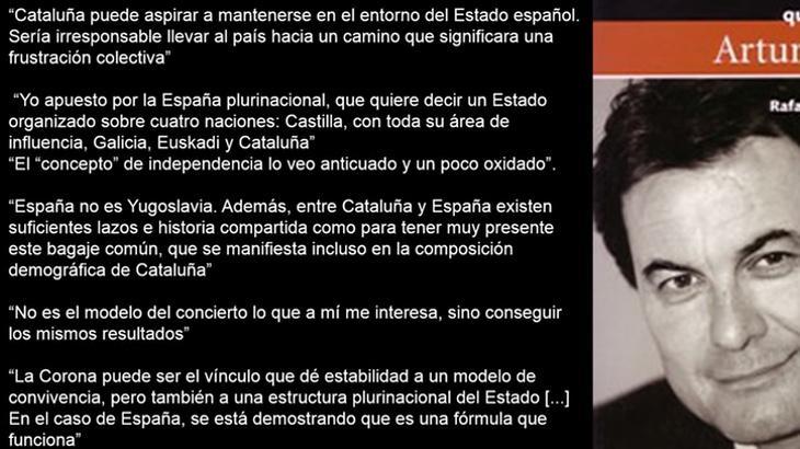 Declaraciones de Artur Mas