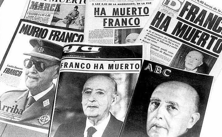 La Transición Española corrió un tupido velo sin curar las heridas de la dictadura