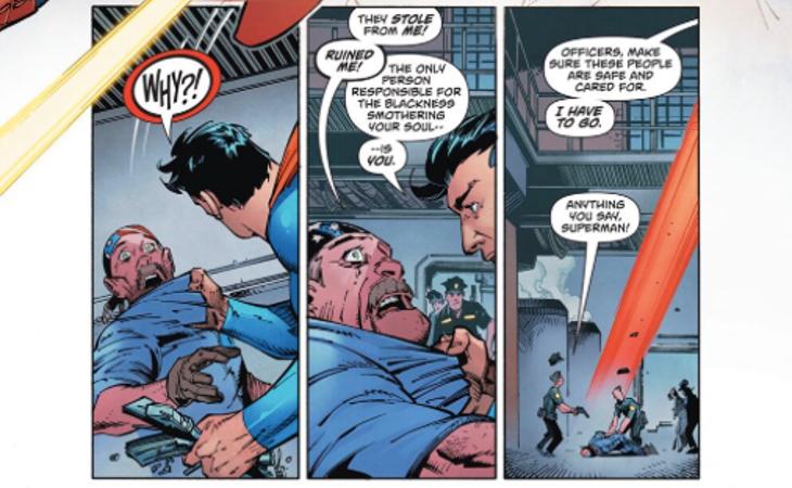 Nuevas viñetas de Superman