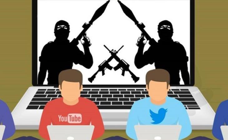 El terrorismo a través de las redes sociales