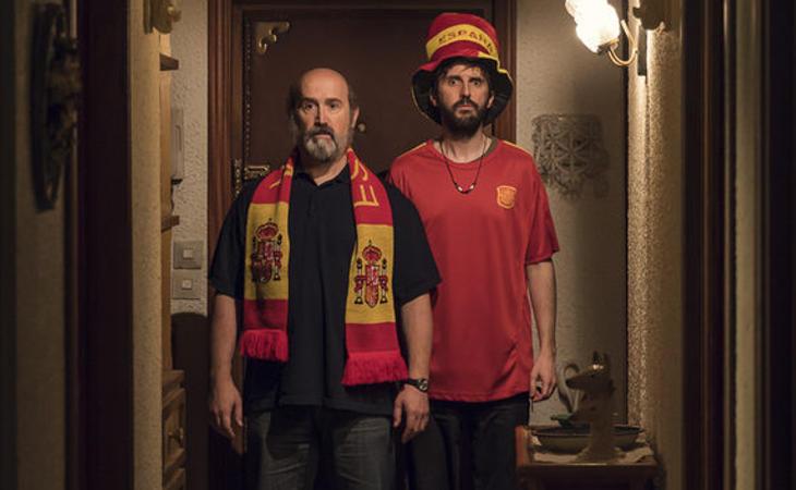 Javier Cámara y Julián López en 'Fe de Etarras'
