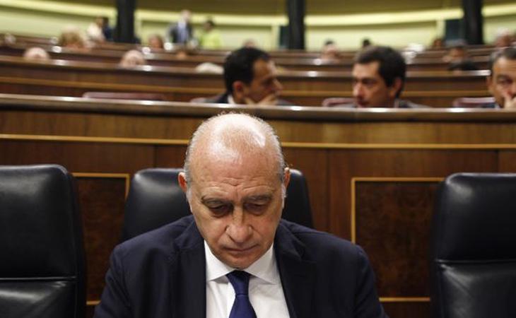 Jorge Fernández Díaz, ex ministro del Interior impulsor de la Ley Mordaza