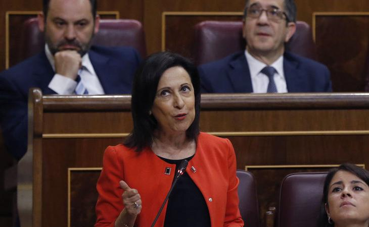 Margarita Robles, portavoz parlamentaria del PSOE