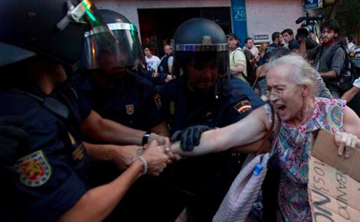 Oponer resistencia pacífica puede ser sancionado administrativamente