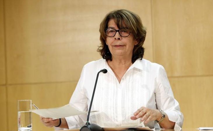 Inés Sabanés, delegada de Medio Ambiente y Movilidad del Ayuntamiento de Madrid