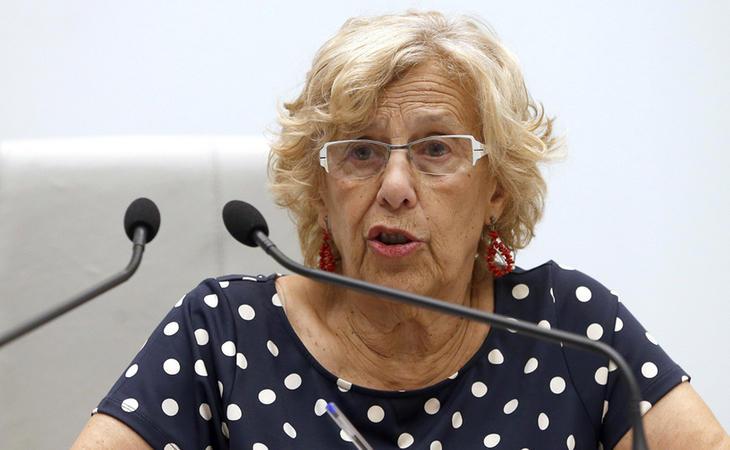 Manuela Carmena, comprometida con el medio ambiente en Madrid