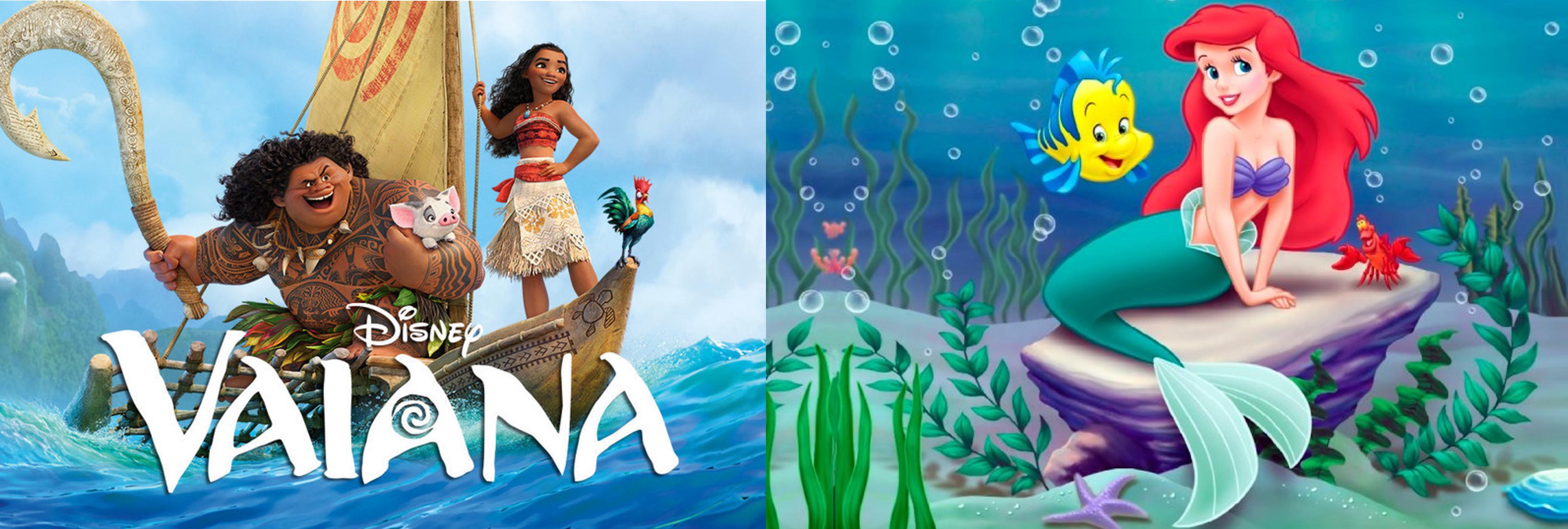 12 razones que demuestran que 'Vaiana' es la historia a la inversa de 'La Sirenita'