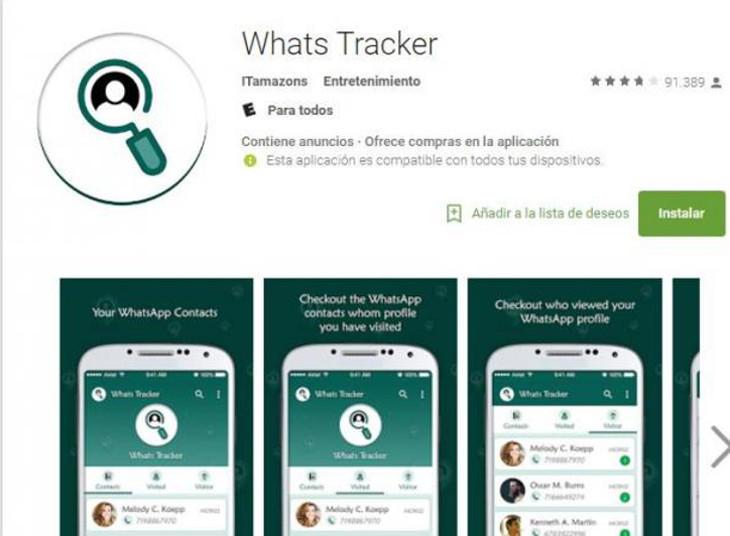 Whats Tracker, una aplicación para los más curiosos