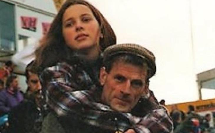 Greg Sims y su hija