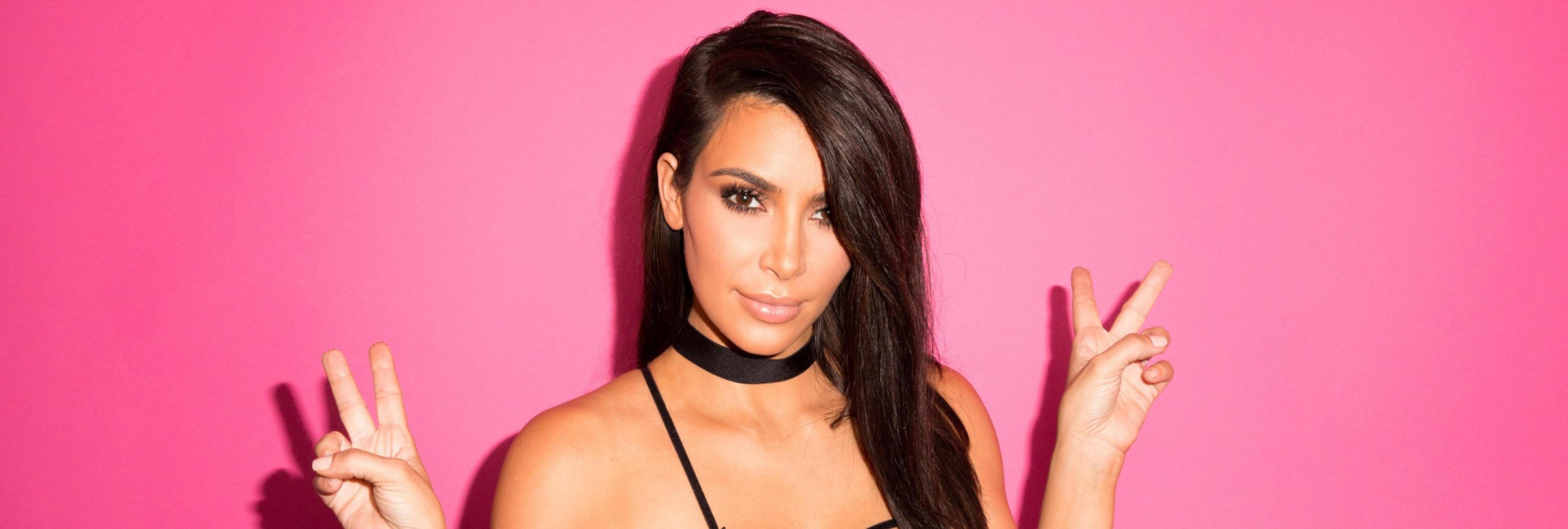 Amenazan de muerte a Kim Kardashian con un machete y una pistola