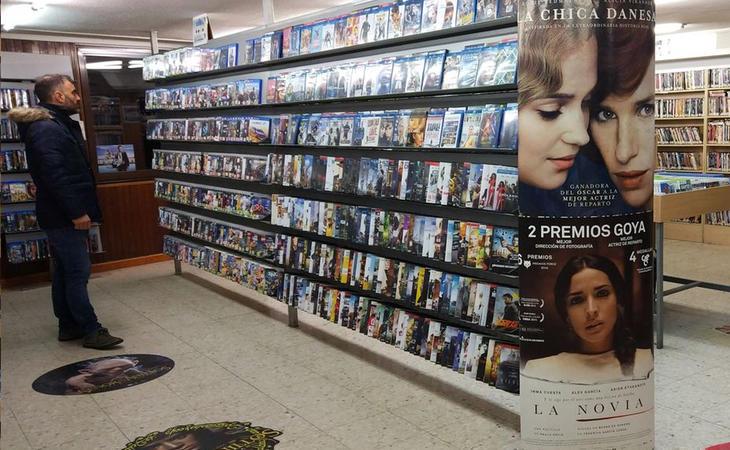 Los videoclubs, la Meca de los cinéfilos antes de la irrupción de las plataformas VOD