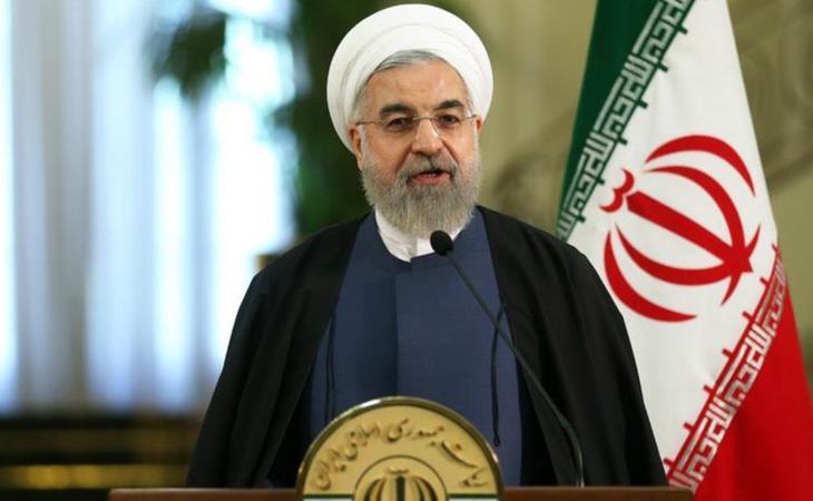 El presidente iraní, Hasan Rouhaní