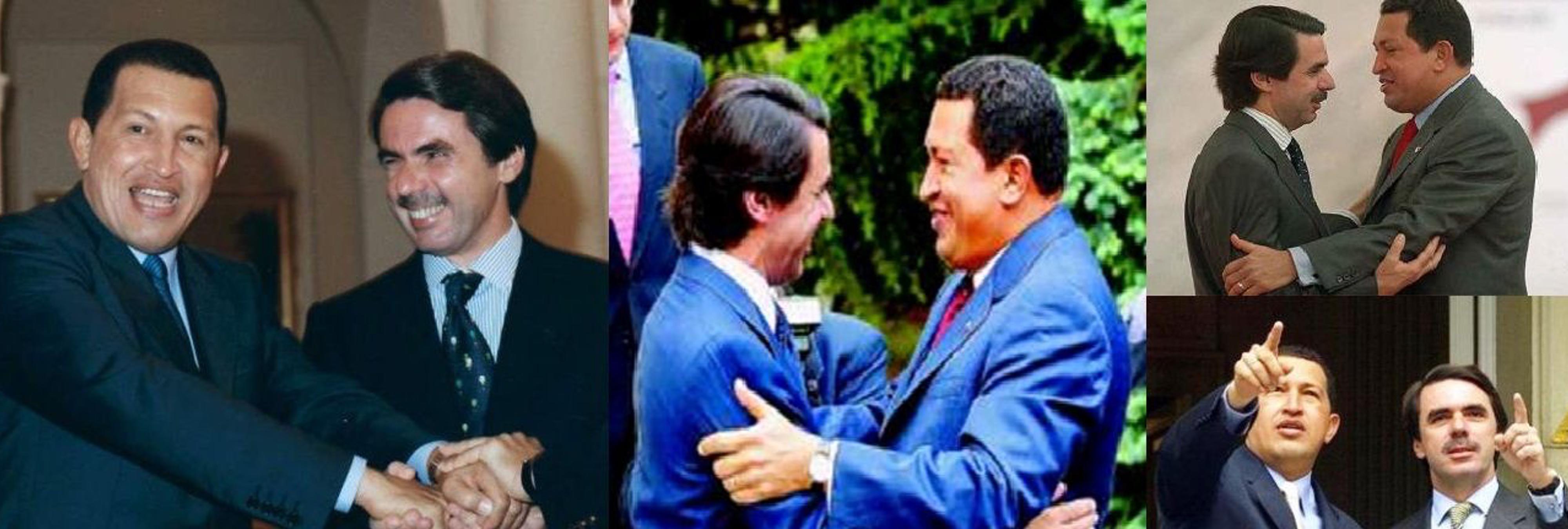 La época en la que Aznar y el PP eran los máximos aliados del chavismo