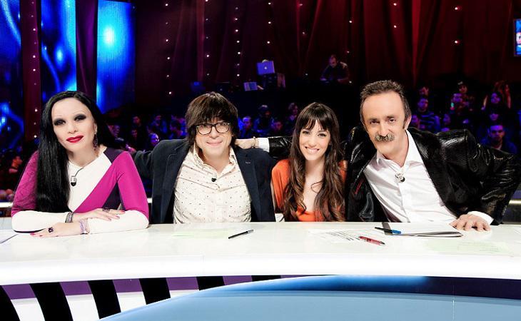 Alaska, Luis Piedrahita, Almudena Cid y Santi Rodríguez, el jurado de 'Por arte de magia'