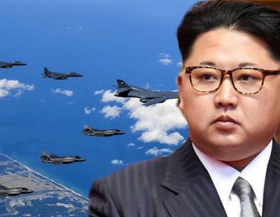 Trump envía varios bombarderos a la costa de Corea del Norte