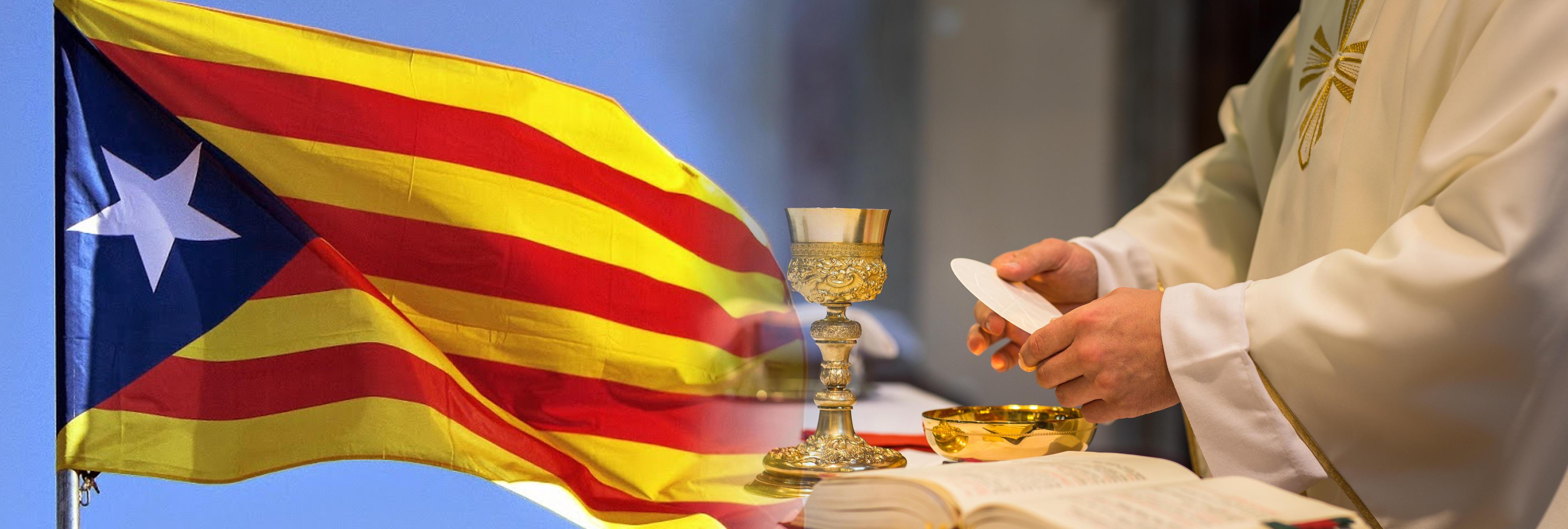 La Iglesia se manifiesta en Cataluña: quieren Referéndum e independencia