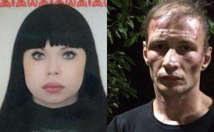 Dmitri Baksheev y Natalia Bkasheeva, la pareja de caníbales