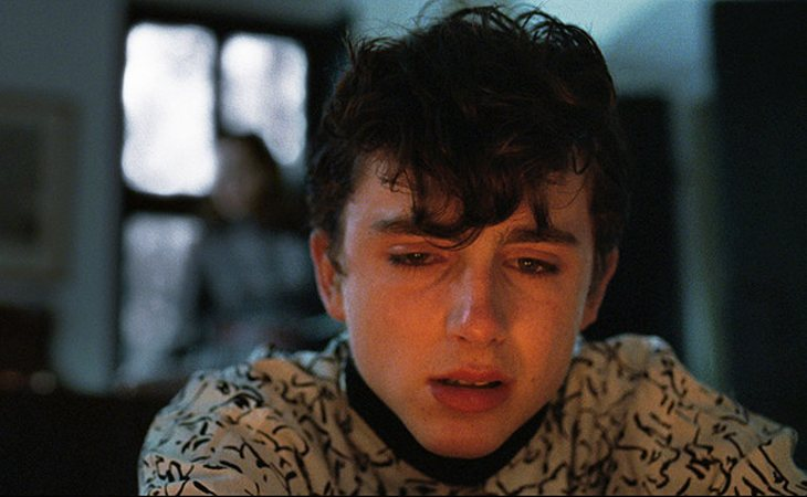 Timothee Chalamet en 'Call me by your name'