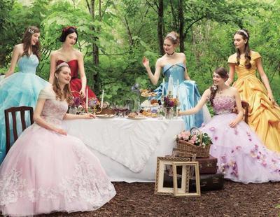 Disney lanza una colección de vestidos de novia inspirada en sus princesas