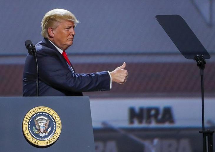 Donald Trump no ha dudado en mostrar su apoypo a la posesión de armas