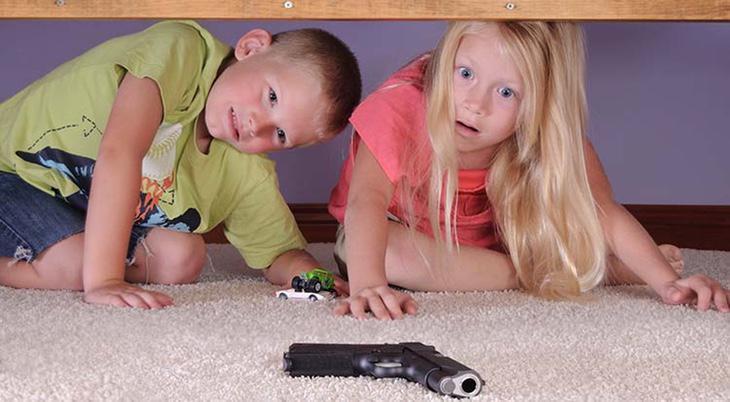 Mueren 1.300 niños al año heridos por armas de fuego