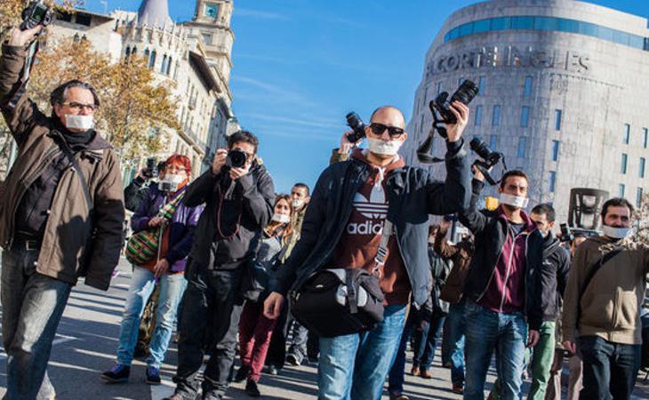 Reporteros Sin Fronteras denuncia el acoso y derribo hacia los periodistas por informar sobre el 1-O