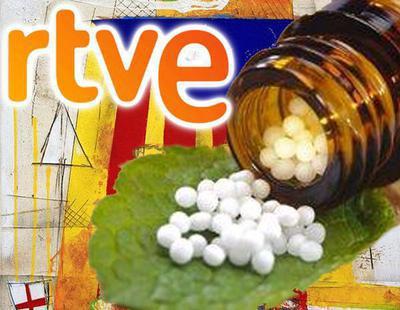 RTVE habla de homeopatía y vino en pleno 1-O