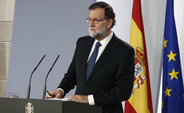 Comparecencia de Rajoy tras el 1-O