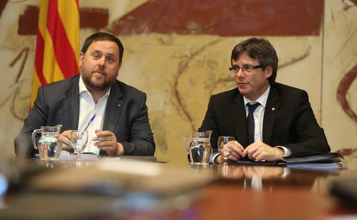 El Govern declarará la independencia de Cataluña en los próximos días