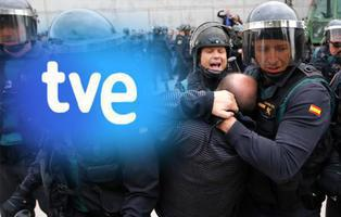 Periodistas de TVE denuncian la manipulación de la cadena pública por su cobertura del 1-O