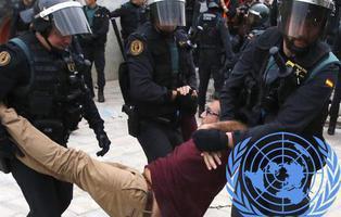 Naciones Unidas solicita una investigación imparcial por la violencia policial del 1-O