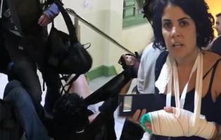 Denuncian agresiones sexuales a mujeres durante las cargas policiales del 1-O