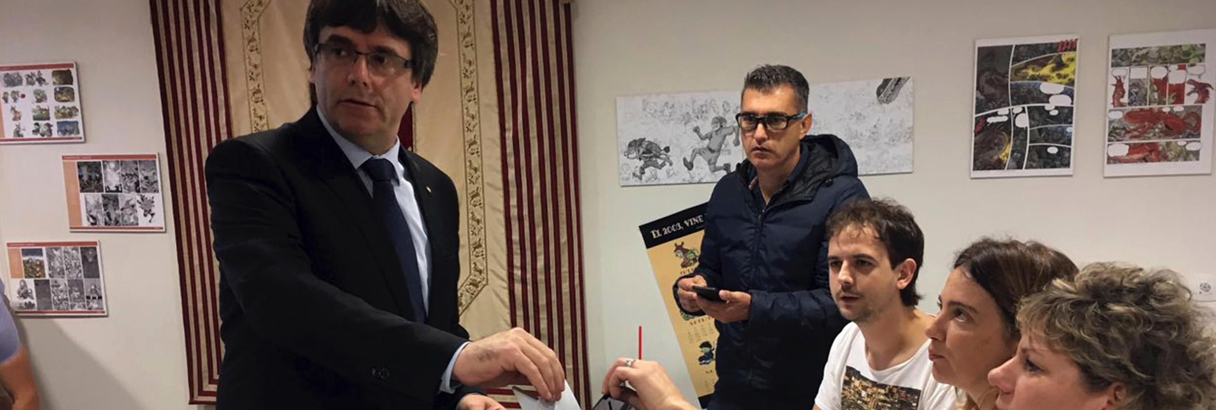 El 'sí' obtuvo el 1-O más votos que personas censadas en 71 municipios