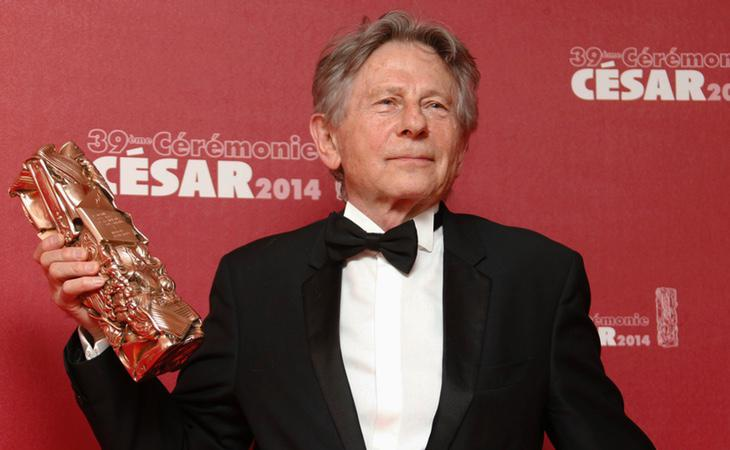 Roman Polanski durante la ceremonia de los César franceses en 2014