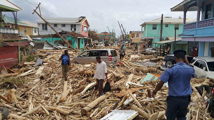 Tras el huracán María, Puerto Rico ha quedado devastado