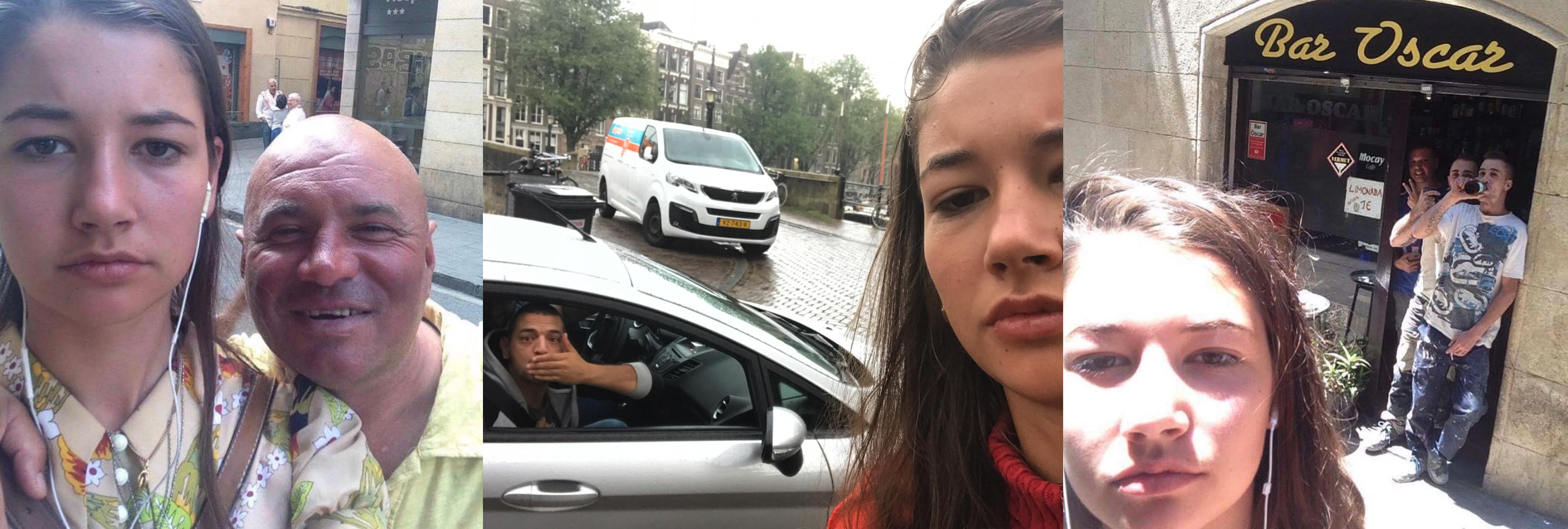 Una chica se harta de los acosadores y cuelga un selfie con cada uno de ellos