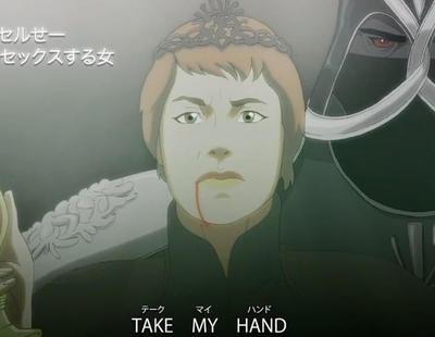 Así sería la intro de 'Juego de Tronos' si la serie fuera un anime