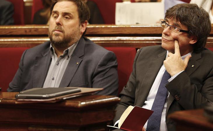 El estado de sitio se contempla ante una insurreción o ataque a la soberanía nacional como una declaración unilateral de independencia por parte de la Generalitat