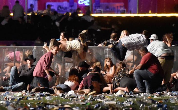 La matanza de Las Vegas dejó 59 muertos