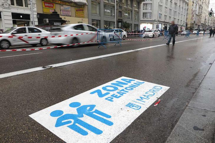 En Navidad se seguirá un plan de peatonalización similar al del año pasado