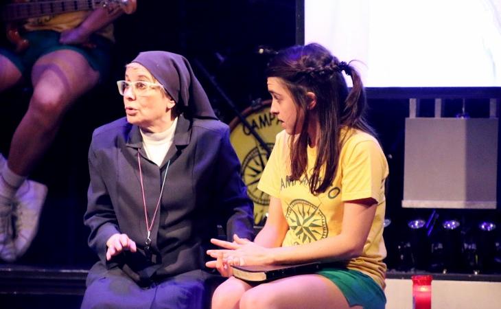 Nuria Herrero y Alicia Orozco en 'La llamada'