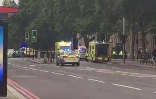 Varios heridos en un atropello múltiple en Londres