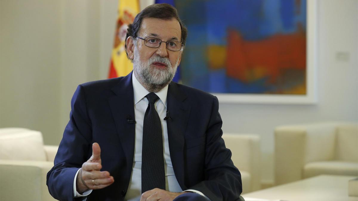 Mariano Rajoy no descarta aplicar el 155