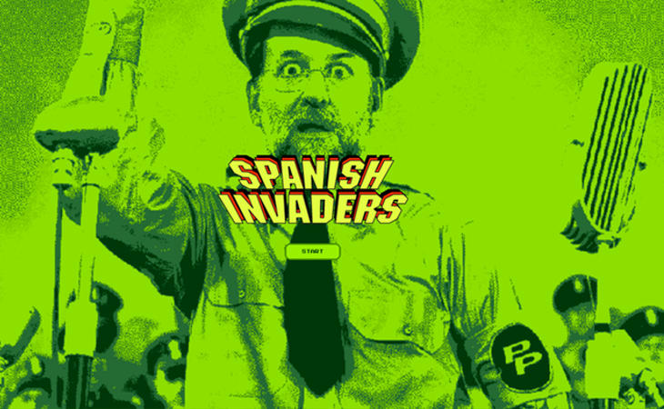 'Spanish Invaders' está ganando popularidad en la red